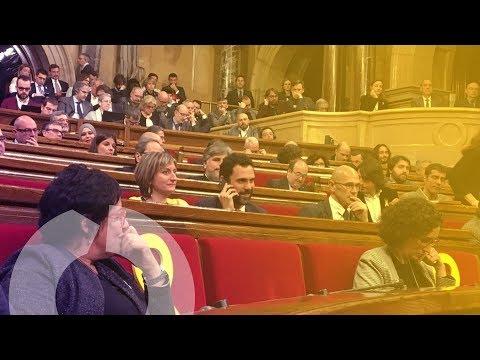 Catalunya, ante la investidura de Turull | Pleno de investidura en el Parlament