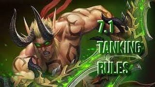 Vengeance Demon Hunter PVE Tanking Guide Patch 7.1