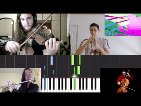 Bloody Stream but i combined multiple covers to create an orchestra