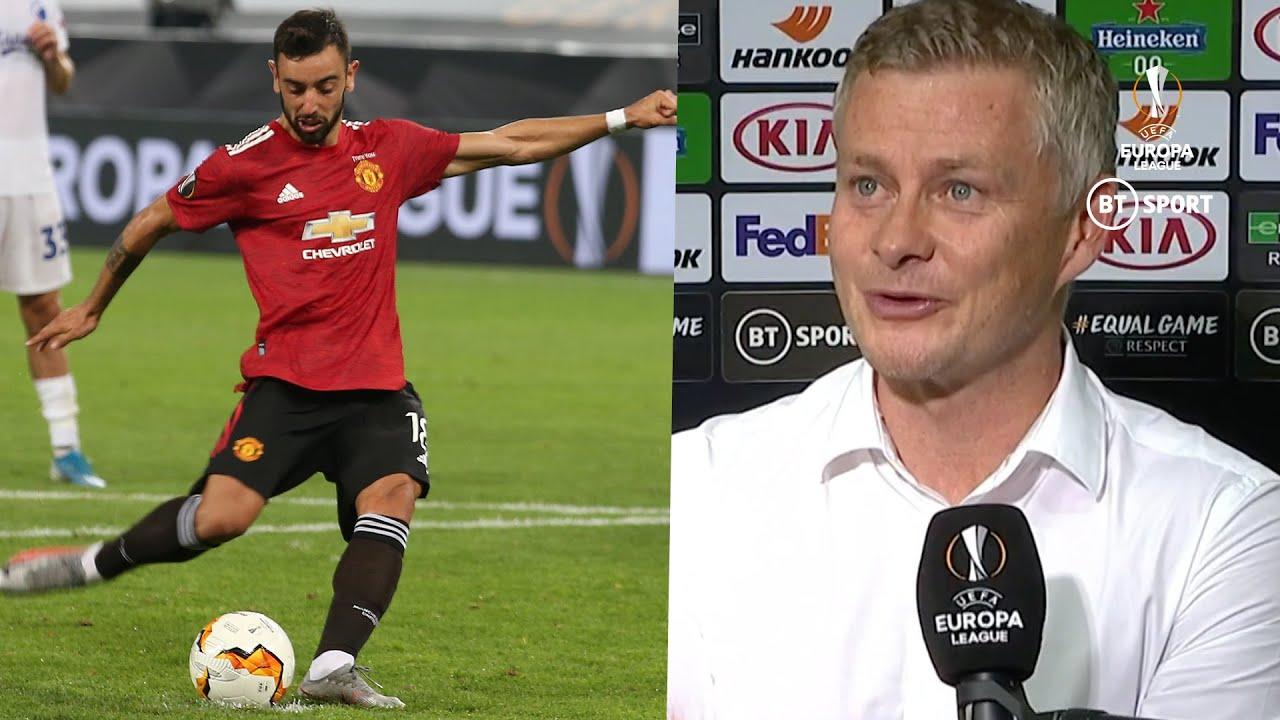 Manchester United vs. Copenhagen score: Bruno Fernandes ...