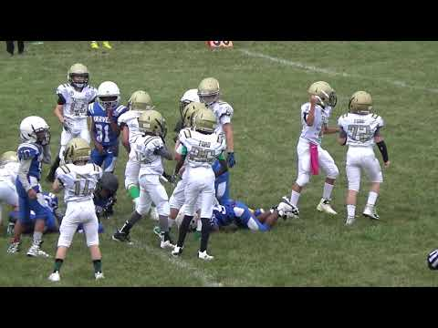 2019 HARVEY COLTS MIGHTY MITE GAME 3 VS ROCKFORD FIRST HALF PT  4