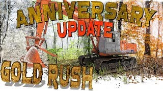 ANNIVERSARY PATCH NEW SEASON GOLD RUSH THE GAME