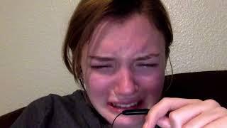 Crying and eating tears mukbang and ASMR *no talking*