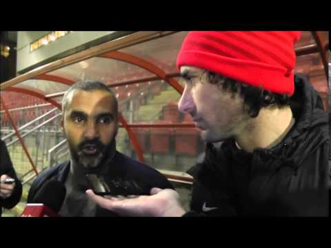 Fabio Liverani post Fleetwood (Clip from Orient Player)