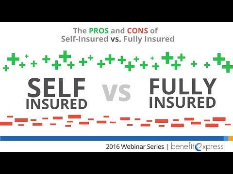 The Pro's and Con's of Self Insured vs. Fully Insured