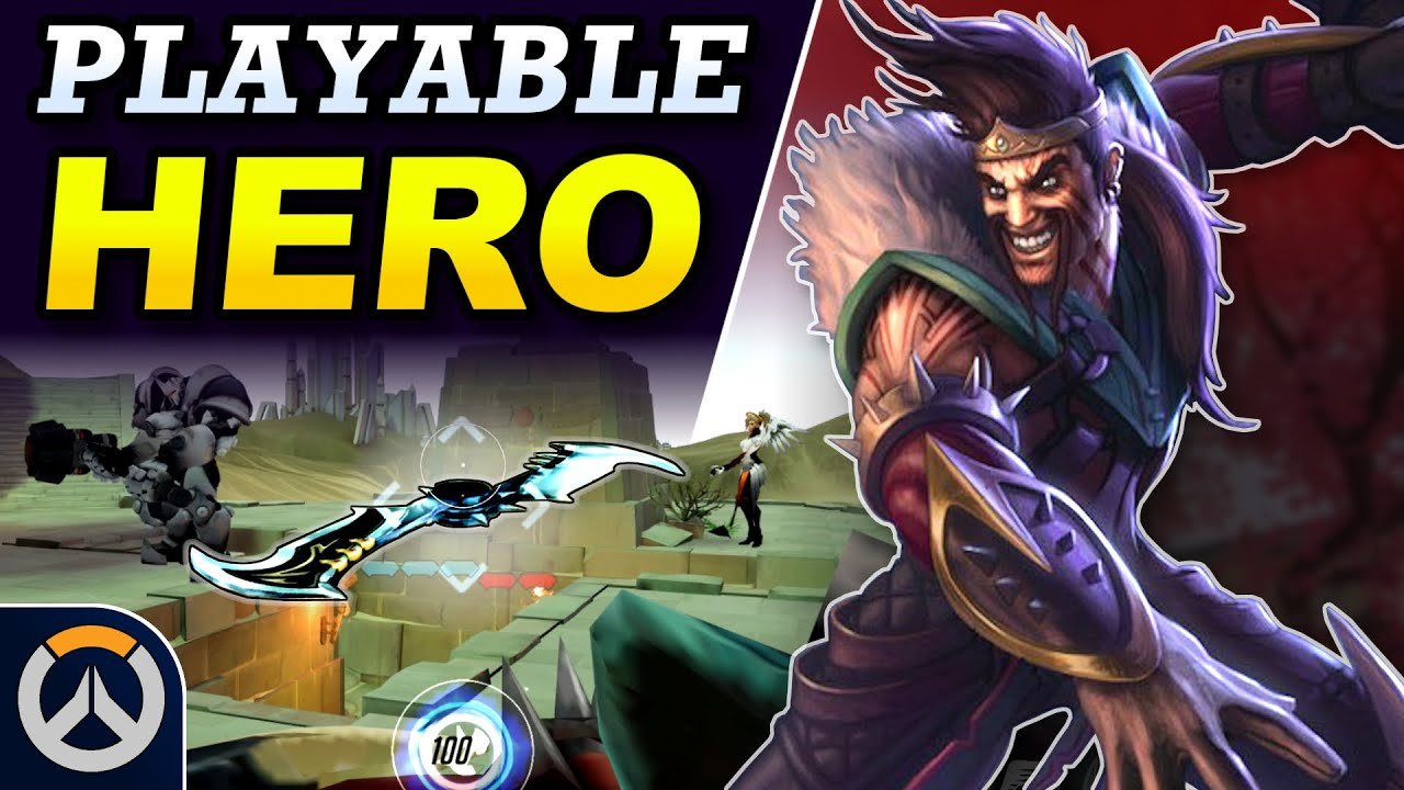 Download Overwatch - DRAVEN Playable New Hero Concept | Full Kit & Abilities Breakdown