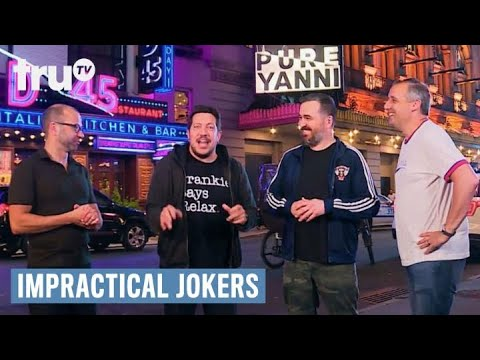 "Impractical Jokers - ""Pure Yanni"" Interrupted (Punishment)   truTV"