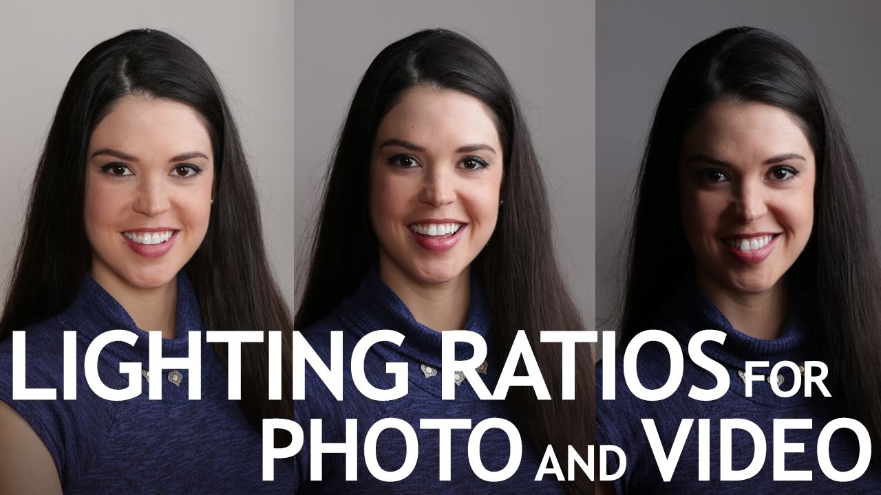 Lighting Ratios for Photo and Video - YouTube