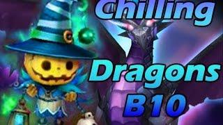 summoners war chilling dragons b10 2min runs
