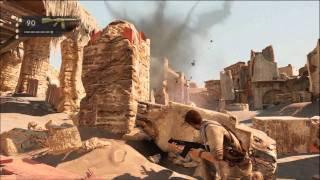 Uncharted 3: Chapter 19- The Settlement Walkthrough