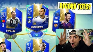 RECORD ITALIANO DI TOTS !? FUT DRAFT TOTS CHALLENGE - FIFA 19 ULTIMATE TEAM ITA