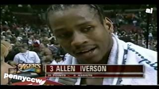 NBA Greatest Duels: Allen Iverson vs. Michael Jordan (1998) *AI 1st win over MJ