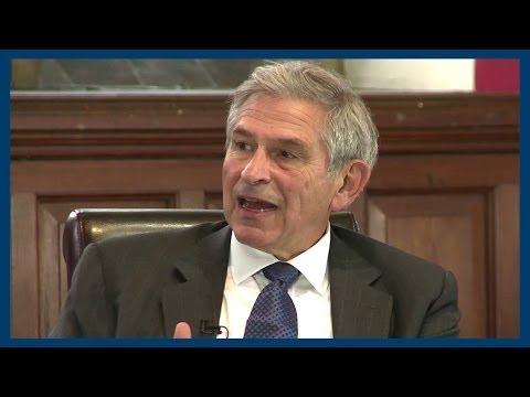 Afghanistan | Paul Wolfowitz | Oxford Union