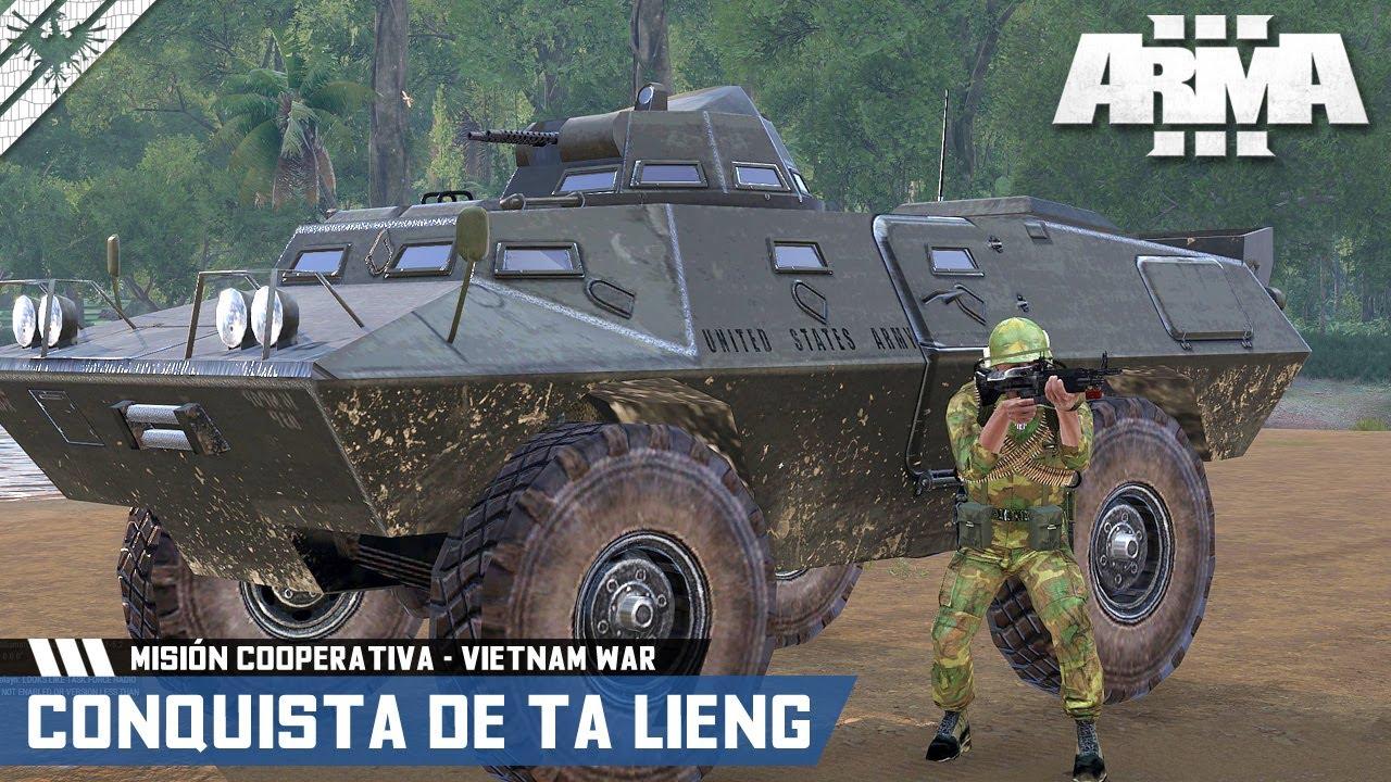 MISIÓN COOPERATIVA | LA CONQUISTA DE TA LIENG | ArmA 3 Gameplay Español (1440p HD) #ArmA3