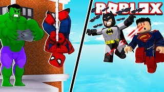 Roblox-which HERO is stronger? (Marvel & Dc: Dawn Of HeroesI)