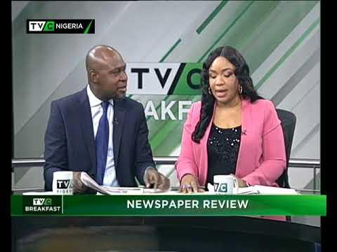 TVC Breakfast Nov. 13th | Newspaper review