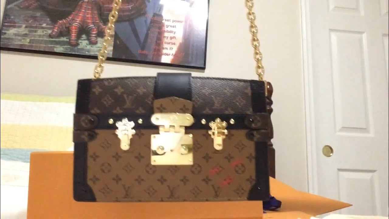 3e286ee2b360 WHY I returned Louis Vuitton TRUNK CLUTCH - YouTube
