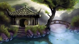 Beautiful Chinese Music - Asian Temple