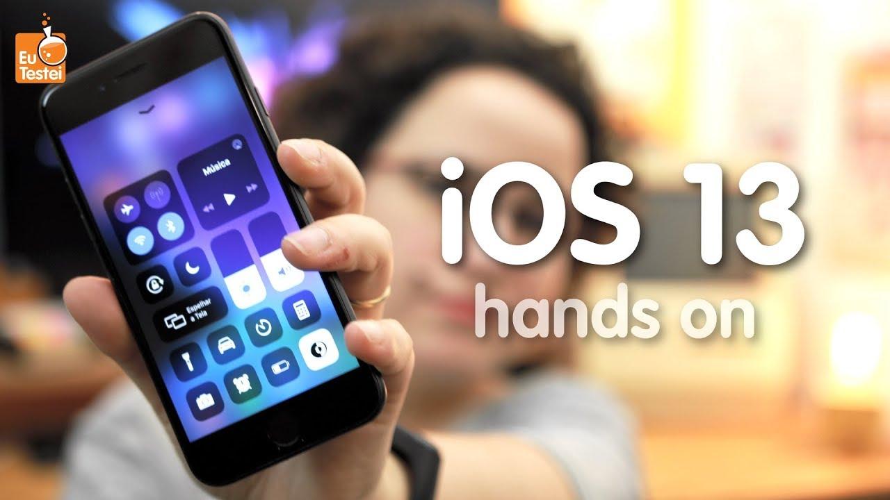 iOS 13: as principais novidades da nova versão - Hands-on EuTestei