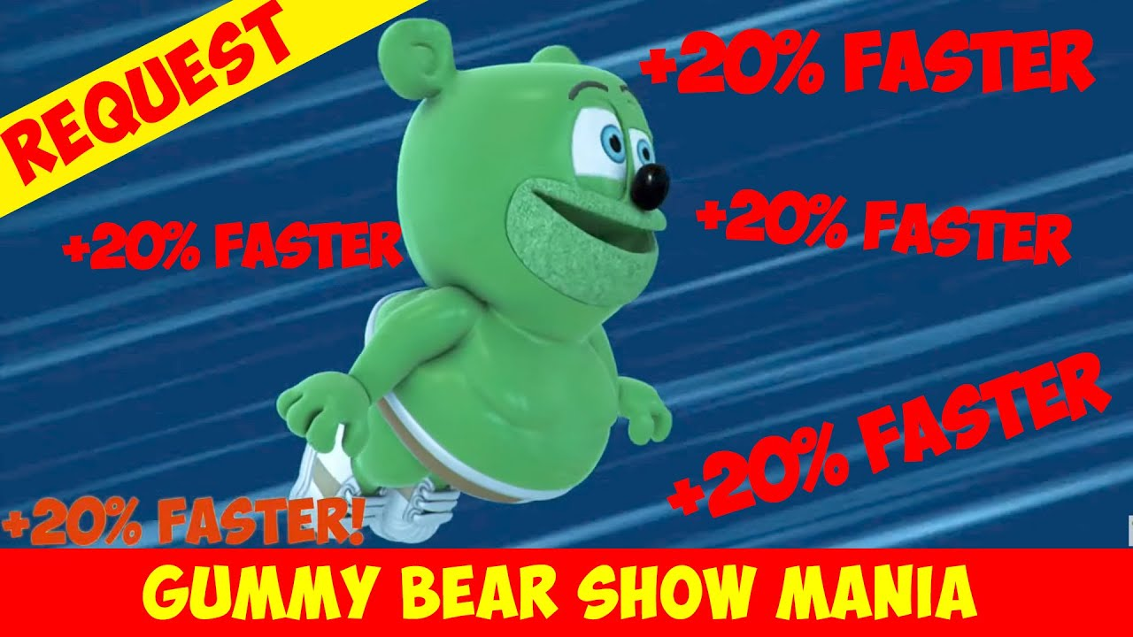 Fly Me to the Moon (+20% FASTER Every 20 Seconds) Special Request - Gummy Bear Show MANIA