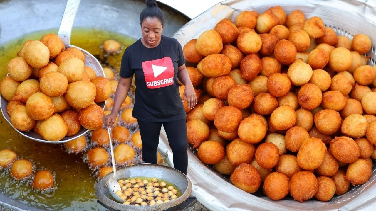 Download HOW TO MAKE PUFF-PUFF FOR PARTIES |100 GUEST | PROFESSIONAL CATERER