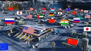 Cuộc Chiến Chia Phần Lục Địa Thứ Bảy: Mặt Trăng