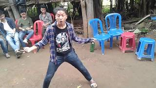 दशैँकाे कमेडि डान्स Ft. Nabaraj Rana Dhoka kholana pusteki aama