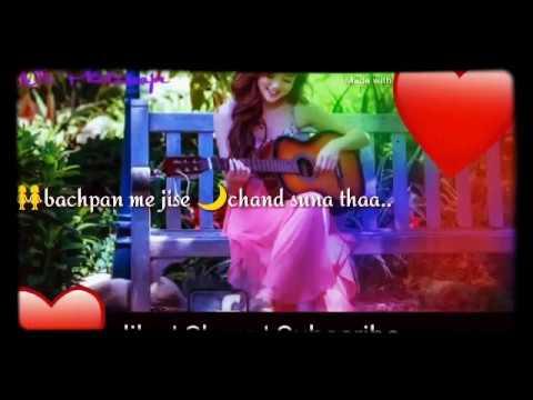 Hum Royenge Itna Hume Maloom Nhi Tha🙈🙉🙊whatsapp Status 30 Second Video Sad Song,female Version ,