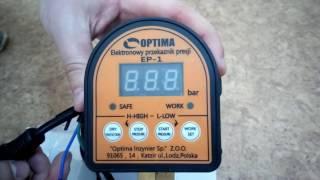 Электронное реле давления Optima EP-1 (с защитой сухого хода) от kty.com.ua(, 2017-06-22T22:58:28.000Z)