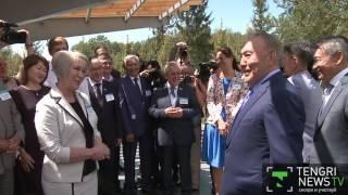 Индийской притчей о любви удивил жителей Усть-Каменогорска Назарбаев