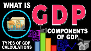 What Is GDP   Gross Domestic Product (GDP)   Components Of GDP, Types Of GDP Calculations