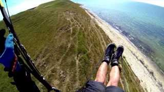 Soaren Schweden Hammars backar bis ales stenar GoPro HD Hero 3 black Gleitschirm Paragliding