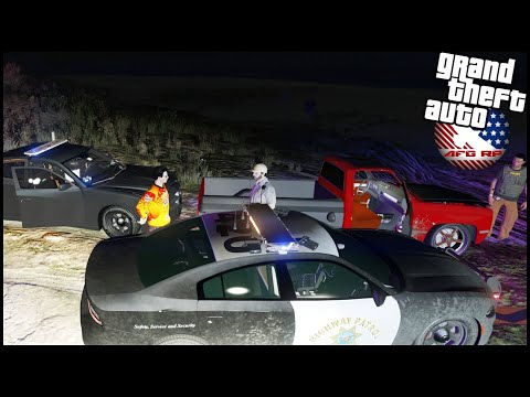 GTA 5 ROLEPLAY - RUNNING FROM COPS IN SQAURE BODY CHEVY - EP. 862 - AFG - CRIMINAL