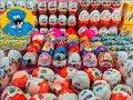 200 Киндер Сюрпризов Супер Выпуск Unboxing Kinder Surprise Тачки,Маша и Медведь,Фиксики