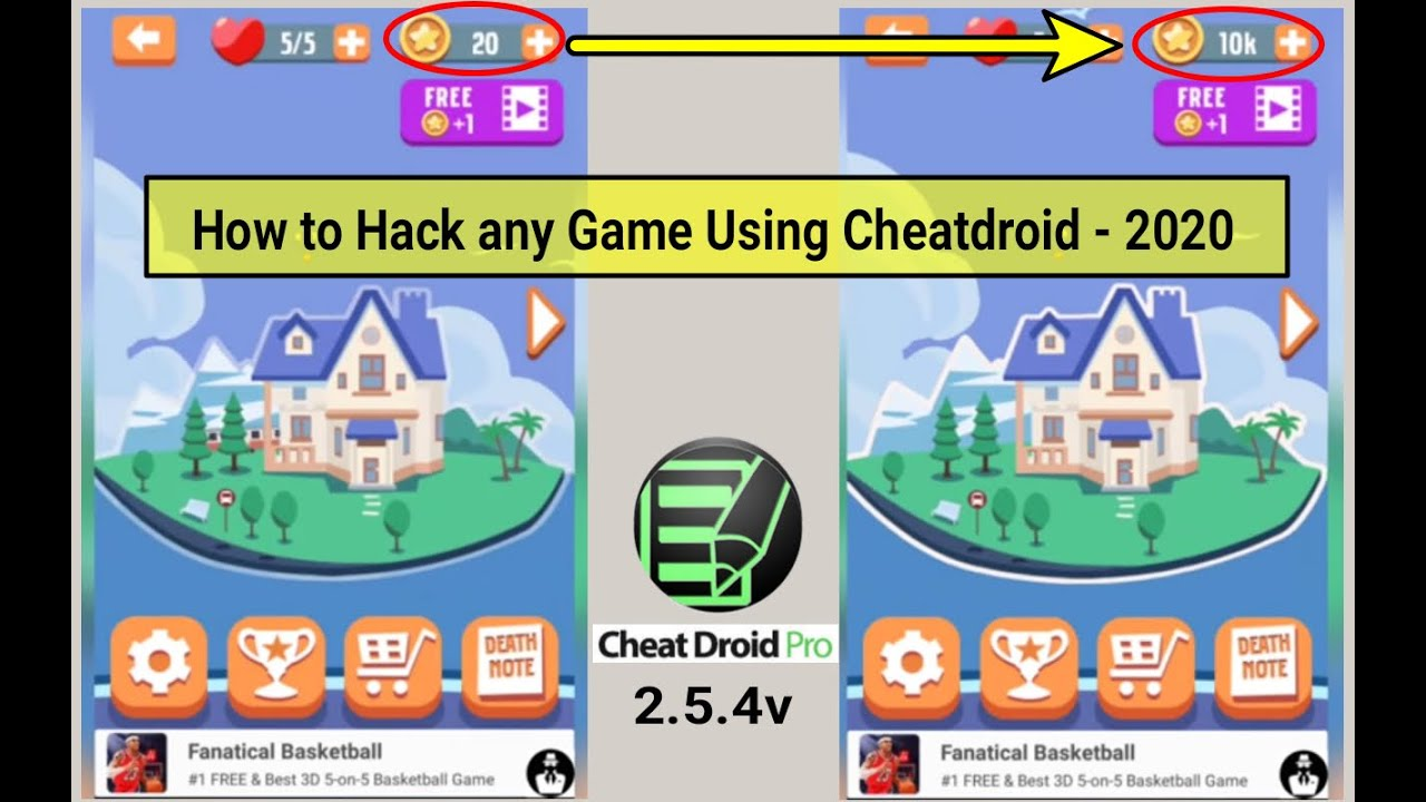 cheat droid pro without root apk