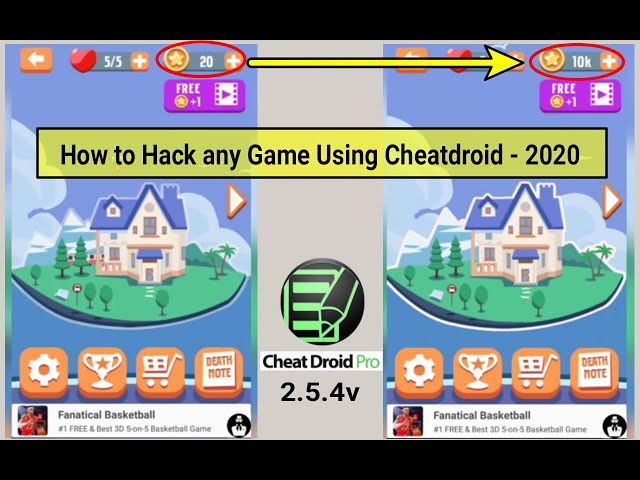 How to use Cheat Droid Pro app