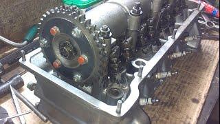 Деффектовка.  Доработка и ремонт ГБЦ ВАЗ 2106 Классика + Установка разрезной шестерни