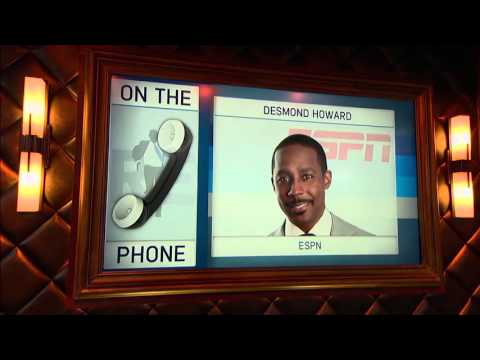 Desmond Howard talks about why he chose the University of Michigan - 11/25/15