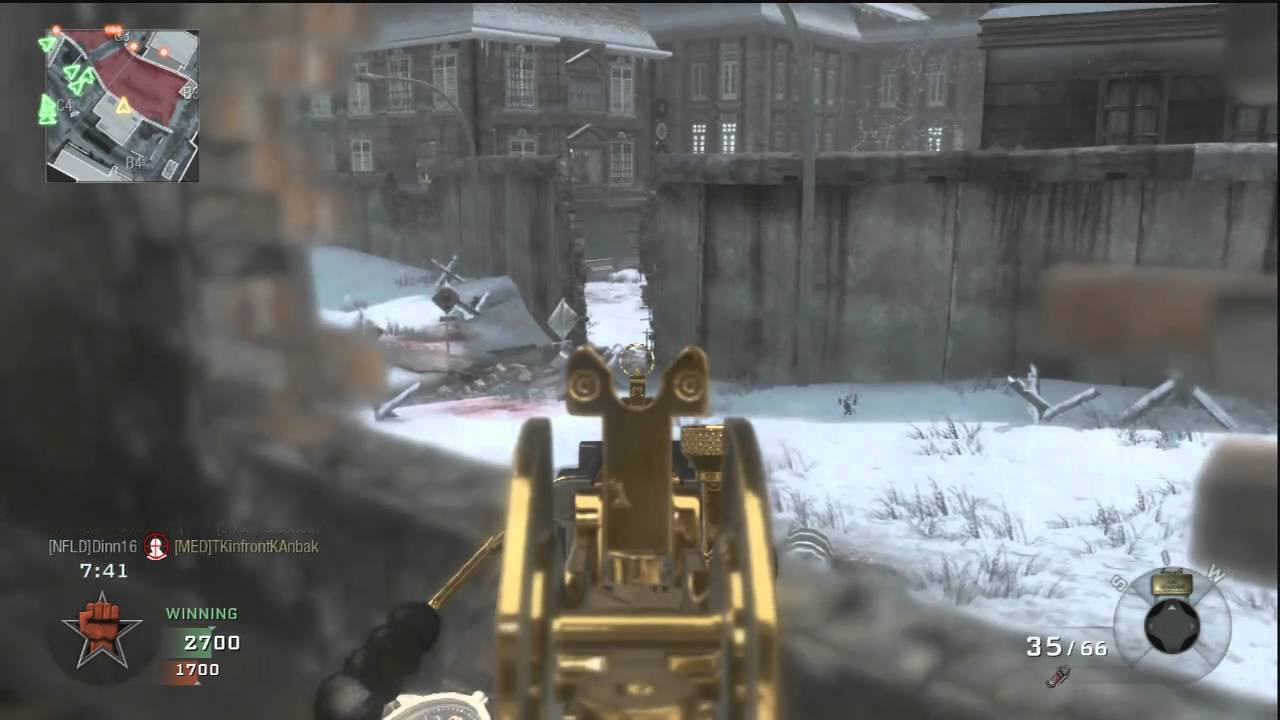 Black Ops Berlin Wall Multiplayer Gameplay (NEW First Strike DLC Map on
