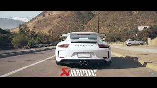 Porsche GT3 991.2 Akrapovic Exhaust