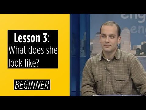 Beginner Levels - Lesson 3: What does she look like?