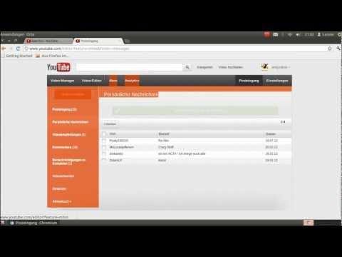 Private Nachricht Auf Youtube Schreiben Youtube