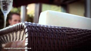 Rattan Outdoor Furniture Range 2012