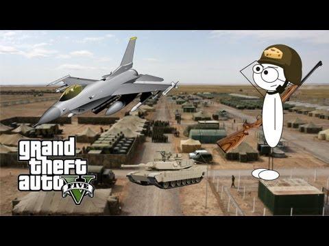 Truco Base Militar Sin Estrellas │ Grand Theft Auto V │ CHPNN Mexico Gameplay
