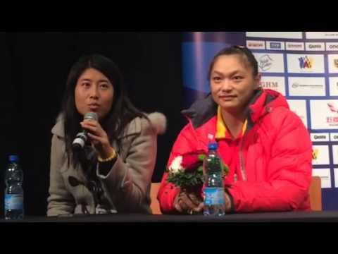 Olga  Zubova, Nadezda Eevstyukhina and Yue Kang WWC press c