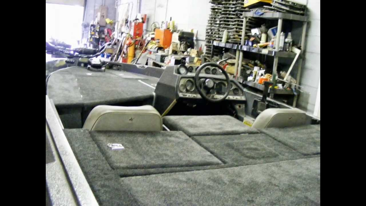 Bass boat deck extension and carpet replacement Makeover ...