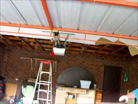 Garage Ceiling Falling Down Repair  ~ Hawthorn Plaster Repairs