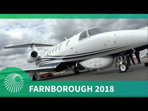 Farnborough 2018: BIRD Aerosystems CJ4 ASIO Special Mission Aircraft