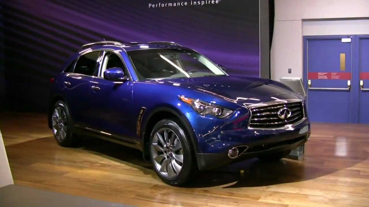 2012 Infiniti FX35 Exterior And Interior At 2012 Montreal Auto Show