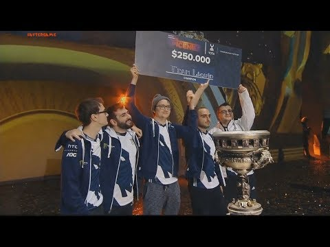 Team Liquid are the champions of Epicenter Moscow 2017. 3:1 vs EG Winning moment #epicGG #AfterGame